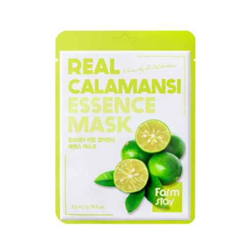 [Farm stay] (1EA) REAL CALAMANSI ESSENCE MASK
