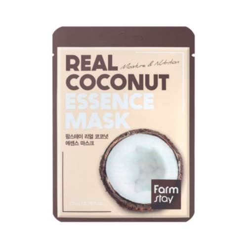 [Farm stay] (1EA) REAL COCONUT ESSENCE MASK