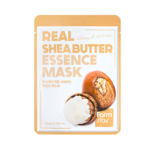 [Farm stay] (1EA) REAL SHEA BUTTER ESSENCE MASK