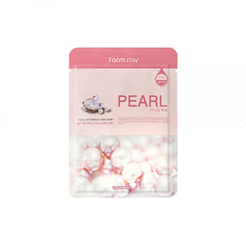 [Farm stay] VISIBLE DIFFERENCE MASK SHEET PEARL 1ea 27g