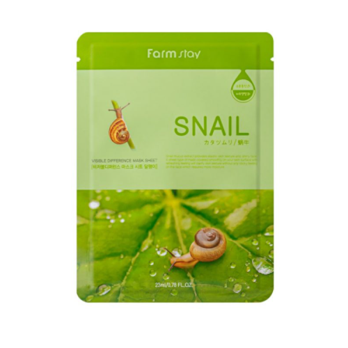 [Farm stay] (1EA) VISIBLE DIFFERENCE MASK SHEET SNAIL