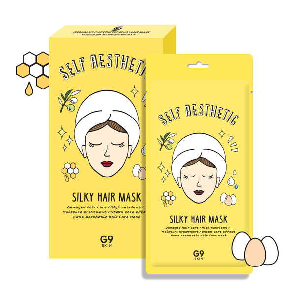 [G9] [G9] Self aesthetic Silky hair mask 5P