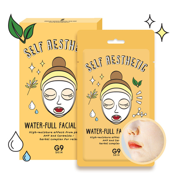 [G9] [G9] Self aesthetic Water-full facial mask 5P