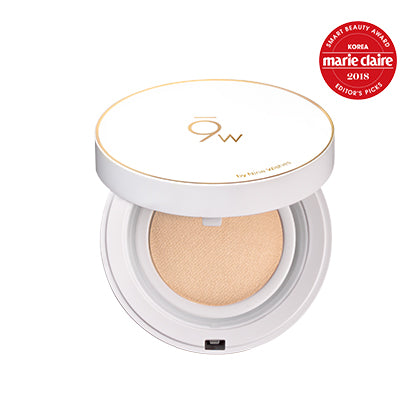 [9Wishes] Light Fit Perfect Cover Cushion SPF50+ PA++++  No.23