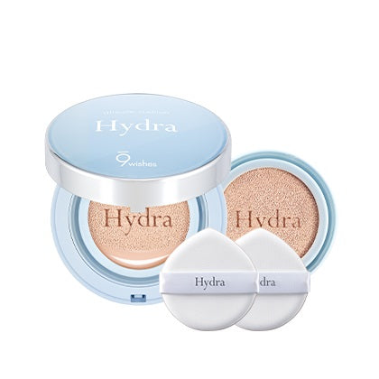 [9Wishes] Hydra Ampule Cushion SPF50+ PA+++ 21.Light