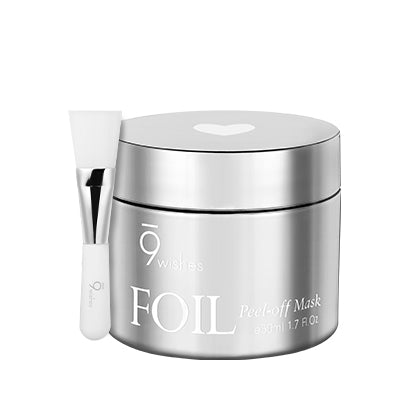 [9Wishes] Foil Peel-off Mask Silver 50ml