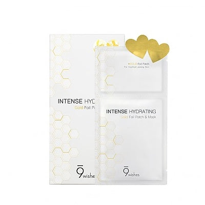 [9Wishes] Intense Hydrating Gold Foil Patch&Mask 1EA (Expired AUG.2020)