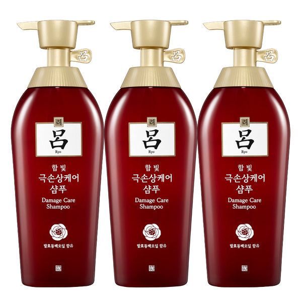 [Ryo] [Ryoe] Hambitmo Set 500ml (shampoo 3 units)