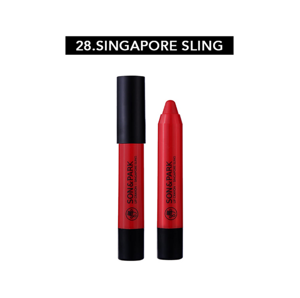 [SON & PARK] LIP CRAYON 28 Singapore Sling