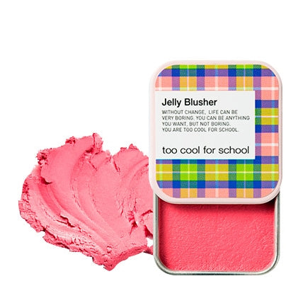 [Too Cool For School] CHECK JELLY BLUSHER 04 CHERRY SQUEEZE