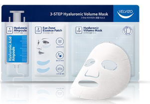 [VELVIZO] 3-Step Hyaluronic Volume mask
