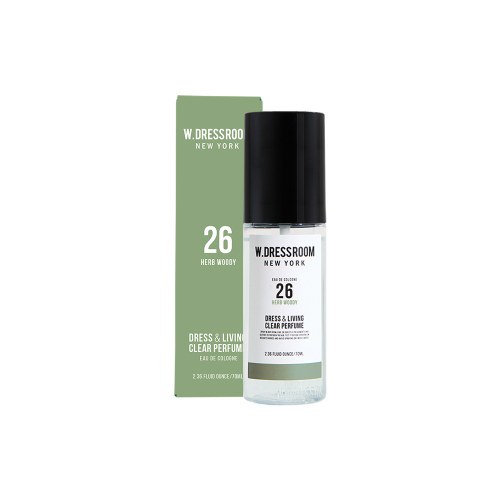 [W.DRESSROOM] Dress & Living Clear Perfume No.26 Herb Woody 70ml