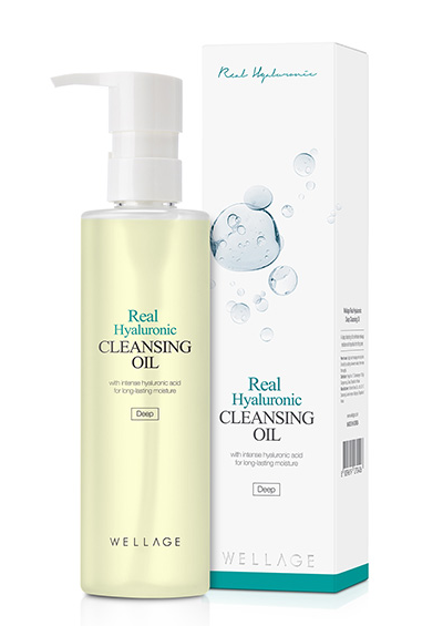 [WELLAGE] Wellage Real Hyaluronic Cleansing Oil 200ml