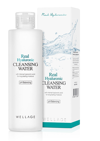[WELLAGE] Wellage Real Hyaluronic Cleansing Water 200ml