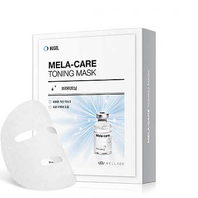 [WELLAGE] MELA-CARE TONING MASK 10EA