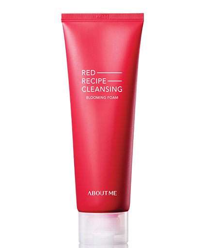 [About me] RED RECIPE CLEANSING BLOOMING FOAM