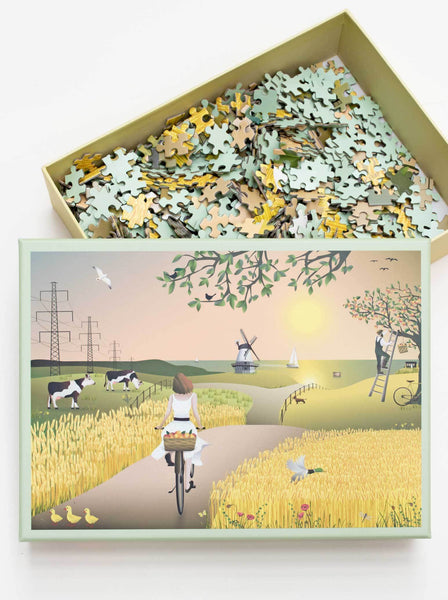 A FINE DAY - JIGSAW PUZZLE - with 1000 pieces