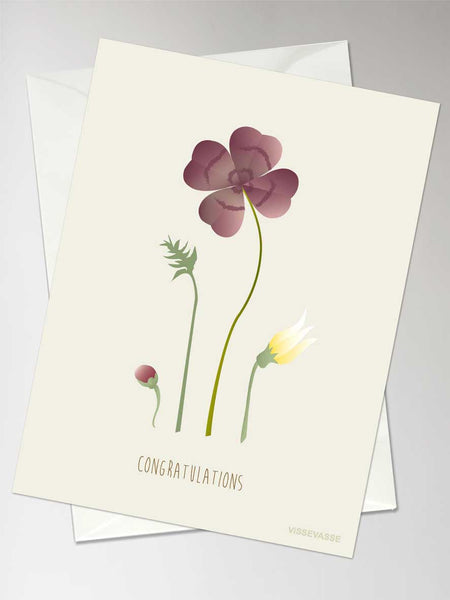 WISHES - Greeting card