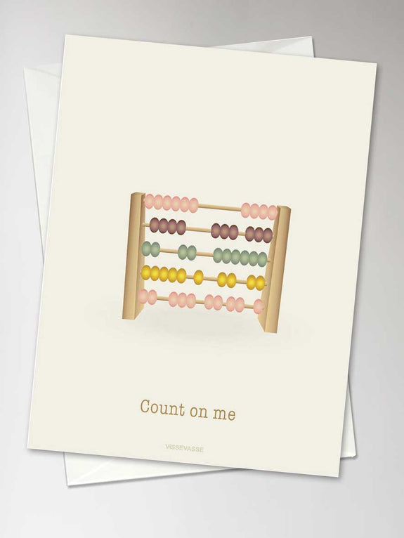 COUNT ON ME - card