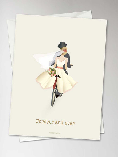FOREVER AND EVER - card