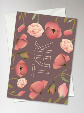 Tak ViSSEVASSE greeting card