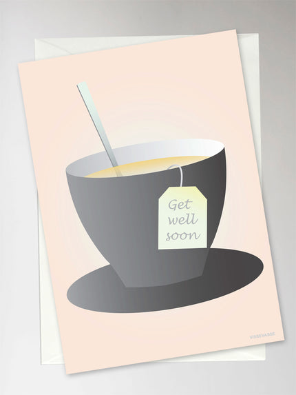 Card with cup from ViSSEVASSE