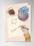 I LOVE YOU NOTE - Greeting Card