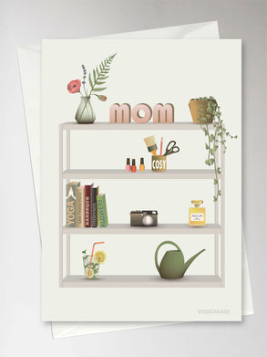 Mothers day greeting card from Vissevasse
