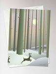REINDEERS - Greeting card