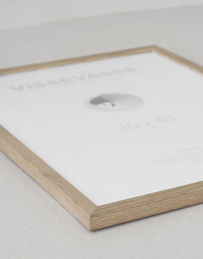 Frames for posters - Solid oak