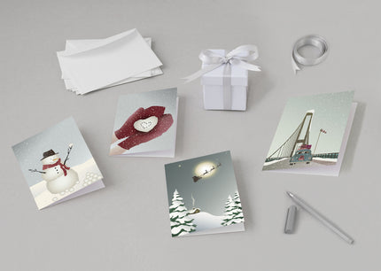 Christmas greeting cards from ViSSEVASSE