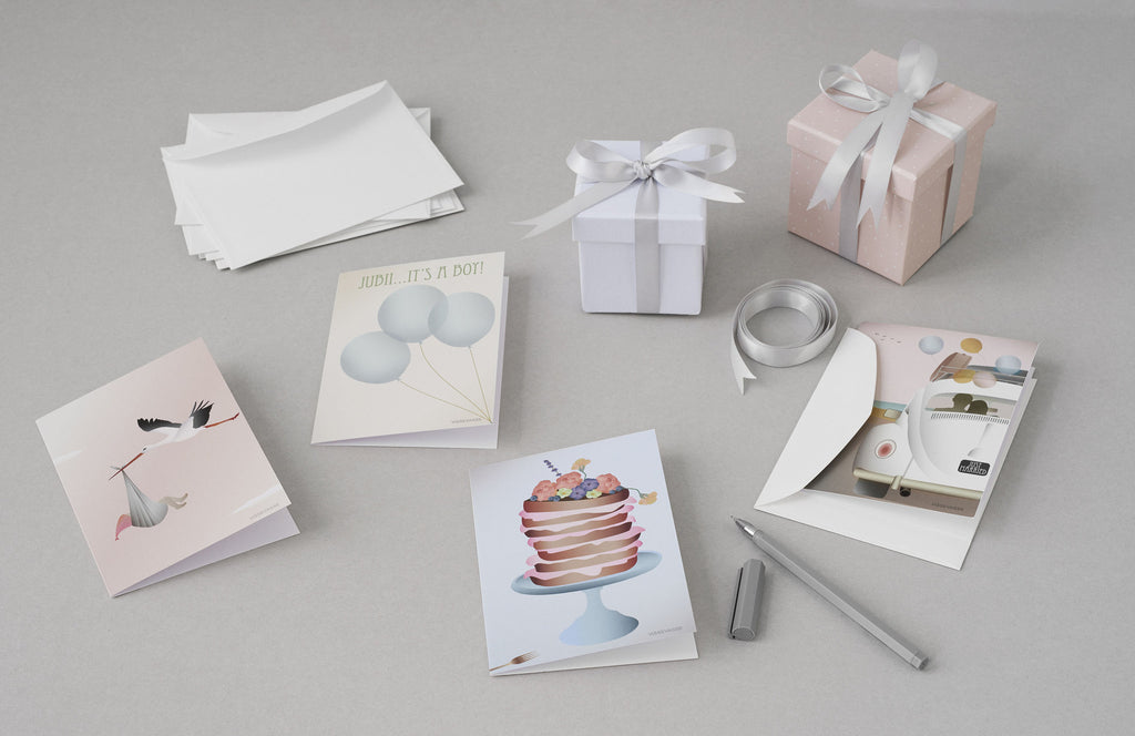 Vissevasse greeting cards