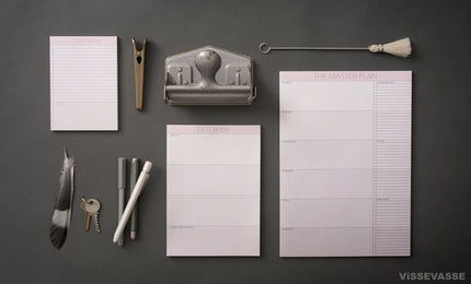Notepads from ViSSEVASSE
