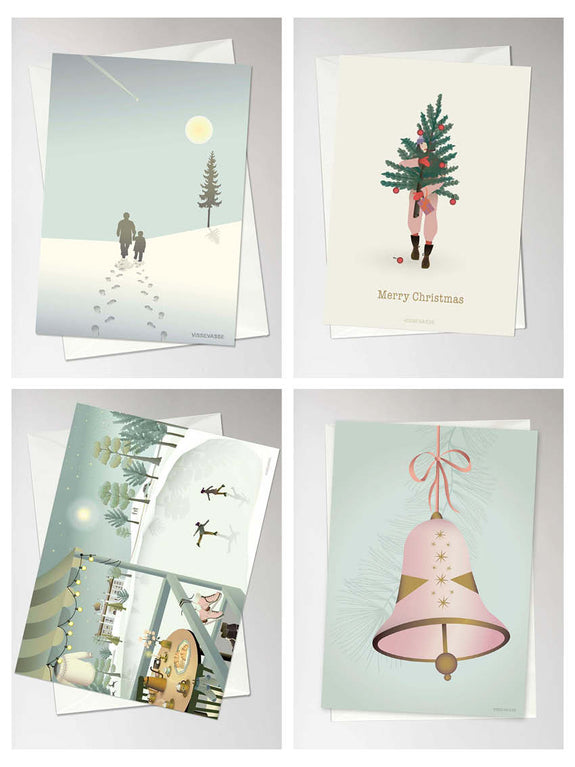 Christmas cards box of 4 - number 5