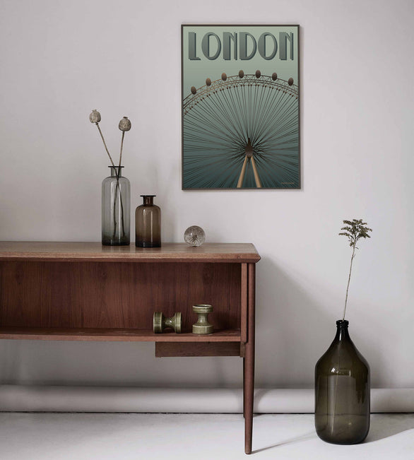 London eye poster vissevasse