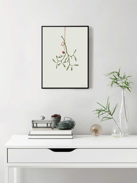 poster with Mistletoe from ViSSEVASSE