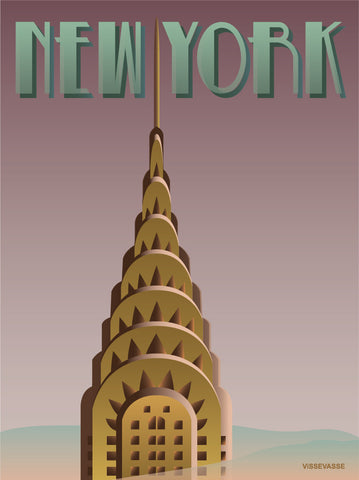 NEW YORK Chrysler - poster