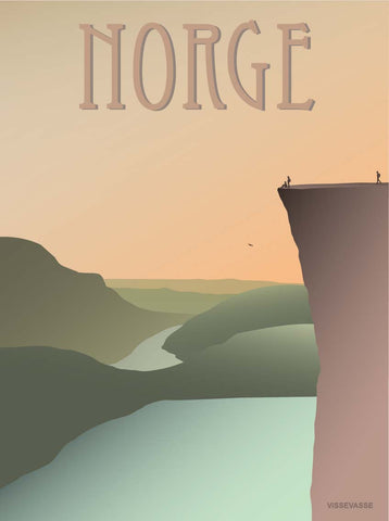 NORWAY Pulpit Rock - poster