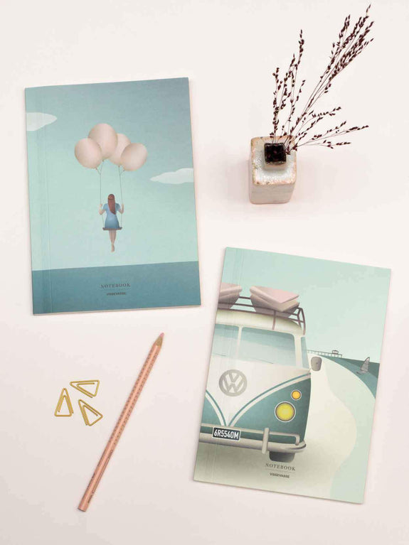 NOTEBOOK SET Camper + Balloon Dream