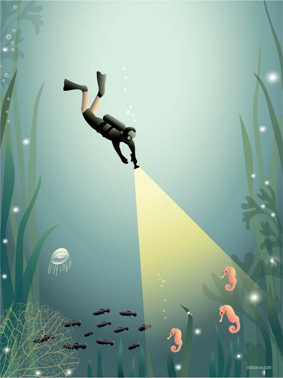 The Diver - poster