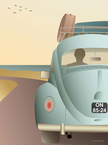 VW BEETLE - poster