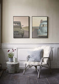 Poster wall from ViSSEVASSE with 2CV Citröen and VW Beetle posters