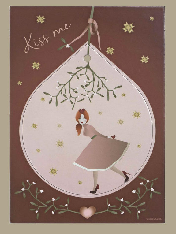 Kiss me Christmas deco from Vissevasse