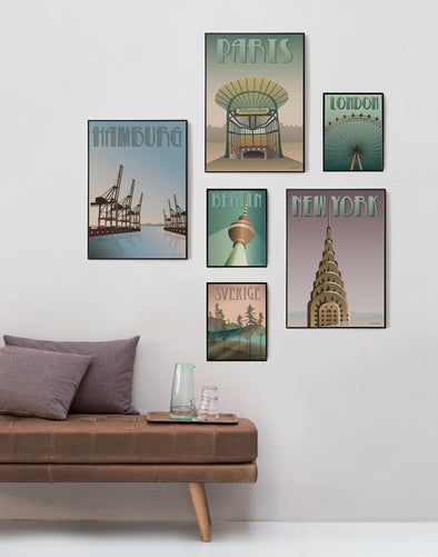COUNTRY & CITY POSTERS