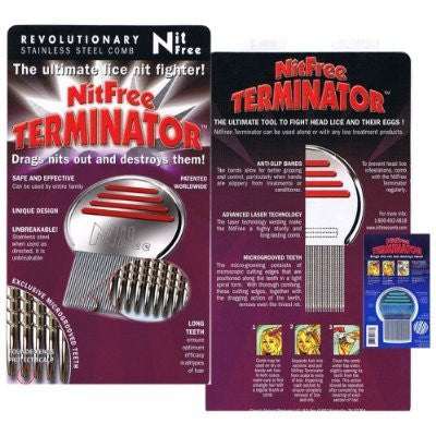 Image result for terminator nit comb