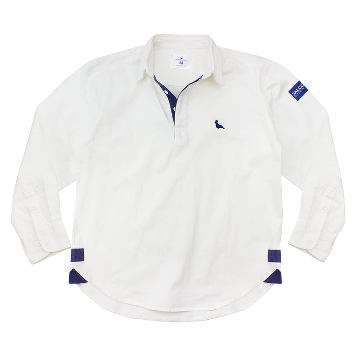 The Salcombe Shirt White