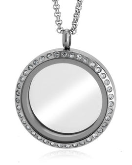 Silver Floating Locket