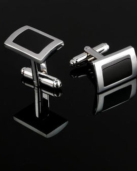 Black Cufflinks For Men