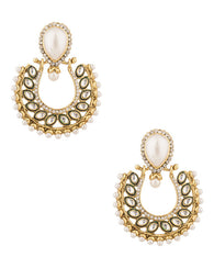 Antique Earring - MN242 - Indian Fashion Jewellery Online