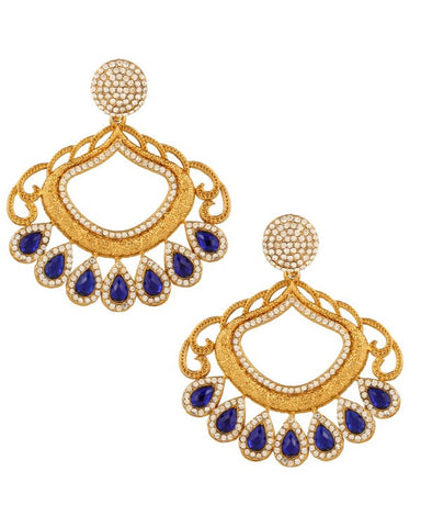 Bollywood Designer Earring - Indian Fashion Jewellery Online